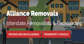 Alliance Removals logo